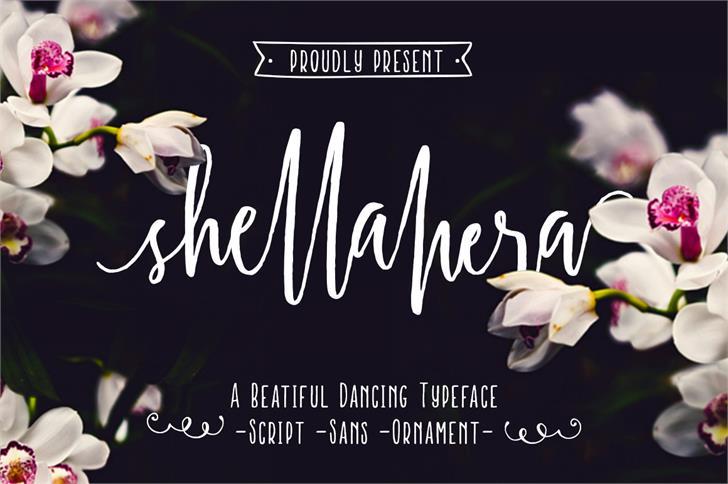 Shellahera Script font - Free Demo
